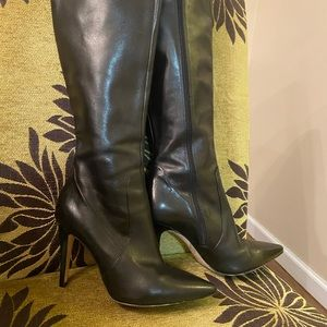 Via Spiga Leather black boots size 6,5